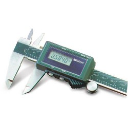 Mitutoyo - 500464 - Solar Digital Caliper 0-6/0-150mm Range, 0.0005/0.01mm Resolution, IP Rating: Not Rated, Stainless
