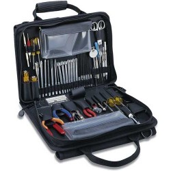 Jensen Tools - JTK-49DBLRB - Workstation Kit in Double-Sided Black Cordura Case