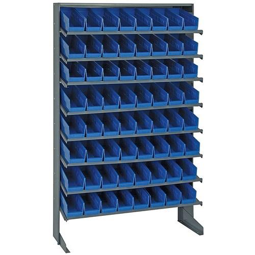 Quantum Storage Systems - QPRS-101 - Single Sided Unit, 64 Blue Bins at Sears.com