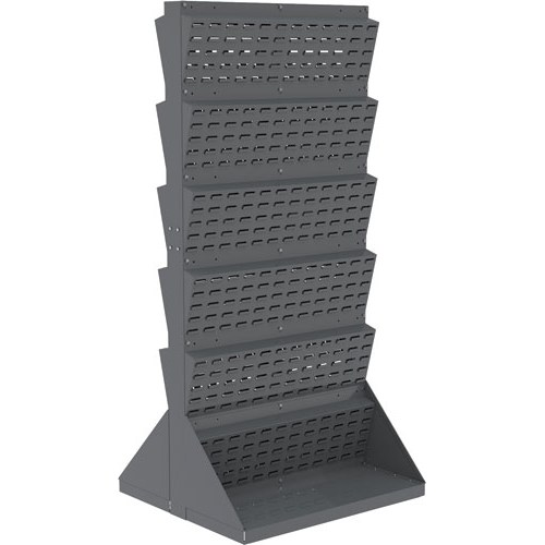 Akro-Mils / Myers Industries - 30654 - Louvered Floor Rack, Double Sided at Sears.com
