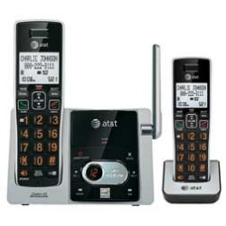AT&T - CL82213 - AT&T CL82213 DECT 6.0 Cordless Phone - Cordless - 1 x Phone Line - 1 x Handset - Speakerphone - Answering Machine - Hearing Aid Compatible