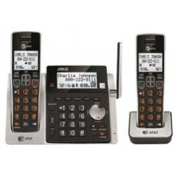 AT&T - CL83213 - AT&T CL83213 DECT 6.0 Cordless Phone - Cordless - 1 x Phone Line - 1 x Handset - Speakerphone - Answering Machine - Hearing Aid Compatible