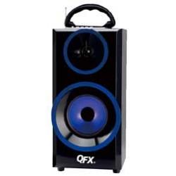 QFX - BT168BL - Bluetooth Boombox Blue