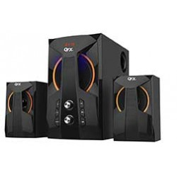 QFX - BT209BLK - 2.1 Ch Mini System With Bluetooth Black