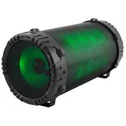 QFX - BT156 - Multi Colored Bluetooth Speaker Black