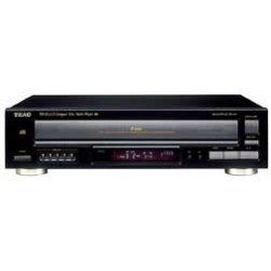Tascam / TEAC - PD-D2610MK2 - Teac PD-D2610MKII 5-Disc Carousel CD Changer - CD-RW - CD-DA, MP3, WMA Playback - 5 Disc(s) - 32 Programmable Track(s) - Black