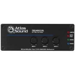 Atlas Sound - TSD-MIX31RL - Atlas Sound 3 x 1 Mic/line Mixer