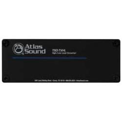 Atlas Sound - TSD-TXHL - Atlas Sound High / Low Level Converter - 25 kHz - 40 Hz to 25 kHz