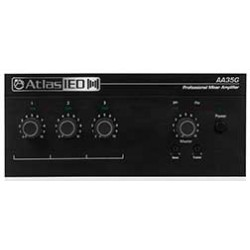Atlas Sound - AA35G - Atlas Sound AA35G Amplifier - 105 W RMS - 3 Channel - 50 Hz to 20 kHz - 95 W