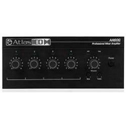 Atlas Sound - AA60G - Atlas Sound AA60G Amplifier - 60 W RMS - 50 Hz to 20 kHz - 150 W