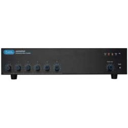 Atlas Sound - AA200PHD - Atlas Sound AA200PHD Amplifier - 200 W RMS - 6 Channel - Black - Multizone - 0.5% THD - 50 Hz to 15 kHz - 89 W