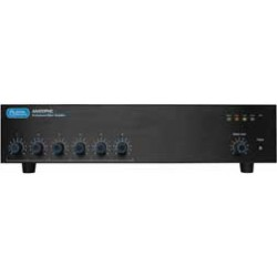 Atlas Sound - AA400PHD - Atlas Sound AA400PHD Amplifier - 2400 W RMS - 6 Channel - Black - 0.5% THD - 50 Hz to 15 kHz - 89 W