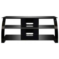 Bello - PVS4206HG - 52 Wide Metal AV Stand Gloss Black