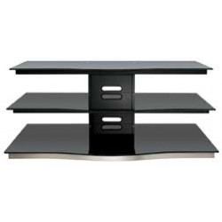 Bello - PVS4252 - 52 Wide AV Stand Black