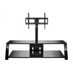 Bello - TP4463 - 63 Wide AV Stand With Mount Black
