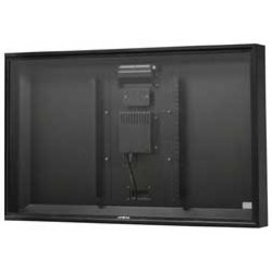 Apollo - AE5046BL - 46 - 50 Outdoor TV Enclosure Black