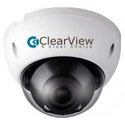 Clearview - IP-92 - 3MP IP Vandal Mini Dome with 2.7-12mm Motorized Lens / PoE & 100 IR