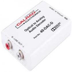 Calrad - 40DACD - D to A Audio Converter with Dolby