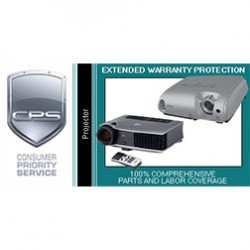 Consumer Priority Service (CPS) - PRJ310000C - 3 Year Projector Warranty Under 10000 Commercial