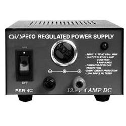 Speco - PSR4C - Speco PSR4C DC Power Supply - 110 V AC Input Voltage