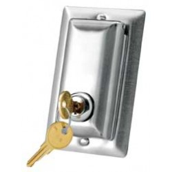 Da-lite - 40962 - Lock Switch Coverplate Swith W/ A Lock