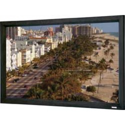 Da-Lite - 20387V - Da-Lite Cinema Contour Fixed Frame Projection Screen - 106 - 16:9 - Wall Mount - 58 x 98 - HD Progressive 1.1 Perf