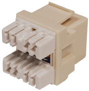 On-Q / LeGrand - 364289-02 - Onq Anyport Rj45 Jack Insert, Cat 5e, Almond