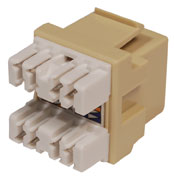 On-Q / LeGrand - 364289-03 - Onq Anyport Rj45 Jack Insert, Cat 5e, Ivory