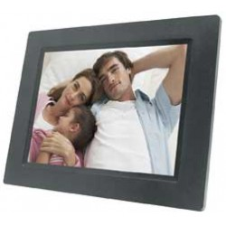Naxa - NF-503 - Naxa 7 TFT LED Digital Photo Frame - 7 LCD Digital Frame - Black - 480 x 234 - Cable - JPEG - Slideshow, Clock, Calendar - USB