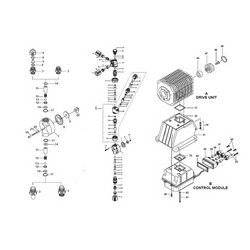 Walchem / Iwaki - 2683-2CW - 2683-2CW COVER, TANK, PE, BLUE, DRILLED Walchem Metering