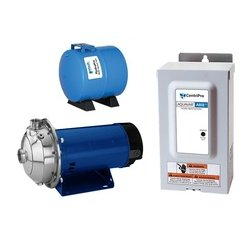 Goulds Water / Xylem - 2AB22MS1G2D2 - Stainless Steel 2 HP Constant Pressure Booster System, 1 Phase, 230 Voltage