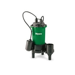 Pentair - CMV5M-11 - Myers Pumps CMV5M-11 Solids Handling Sewage Pump, 1/2