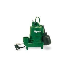 Pentair - S40HT-11 - Myers Pumps S40HT-11 High Temp Effluent Pump, 1/3 HP