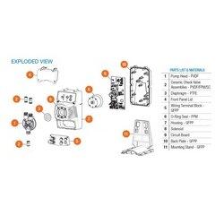 Hayward Industries - ZPXXWT100200500 - Hayward ZPXXWT100200500 Pump, Wiring Terminal Block
