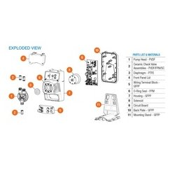 Hayward Industries - ZXXVA5100200 - Hayward ZXXVA5100200 Pump, Valve Assy PVDF FPM FPM