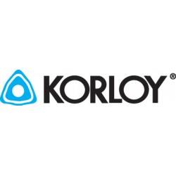 Korloy - 1-2442-923 - KORLOY Style CCMT Carbide Inserts - Grade C-2 UNCOATED