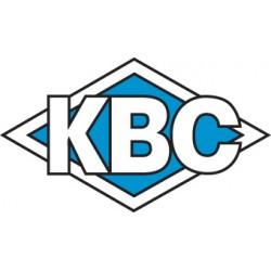 KBC Tools - 1-331-3012 - KBC Stub Length M-42 8% Cobalt Center Cutting Roughing / Hog Mills - Fine Tooth