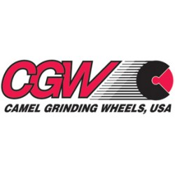 CGW Abrasives - 1-595-35011 - CGW Brown A/O Bench & Pedestal Grinding Wheels