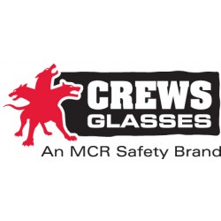 MCR Safety - 1-711-PGX110AF - Crews Glasses PGX1 Goggles