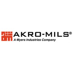 Akro-Mils / Myers Industries - 1-756-35010 - Label Holders for Akro NST's Nest & Stack Totes, Labels & Lids