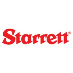 L.S. Starrett - 1-855-50714 - Universal Back Plunger Dial Test Indicators - INCH READING - White Dial Face