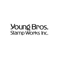 Young Bros Stamp Works - 1-8993-006 - Young Brothers 27 Pc. Letter Stamp Sets