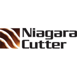Niagara Cutter - 5-303C-58258 - Niagara 7 Flute AlTiN 38 Helix Single End Solid Carbide End Mills with Aerospace Radius