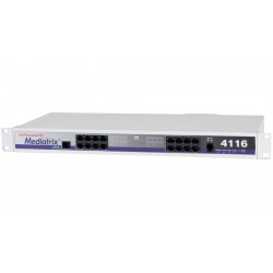 Mediatrix - 4116-DGW - 4116 - 16 Port FXS Gateway with 1 PSTN Bypass Port SIP (4116-02-MX-D2000-K-000)