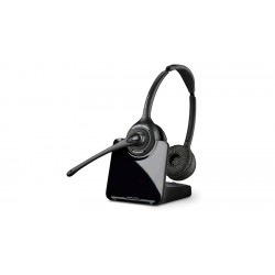 Plantronics - 8828501 - Plantronics CS500 XD Series Wireless Headset System - Stereo - Wireless - 350 ft - Over-the-head - Binaural - Supra-aural - Noise Cancelling Microphone - Noise Canceling