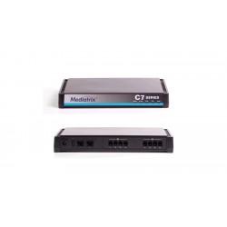 Mediatrix - C711-01-MX-D2000-K-000 - C711 VoIP Analog Adapter, Gateway and QoS Control - 8 FXS Ports