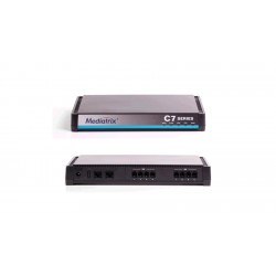 Mediatrix - C711-01-MX-D2000-K-001 - C711 VoIP Analog Adapter, Gateway and QoS Control - 8 FXS Ports - TR-069 Enabled