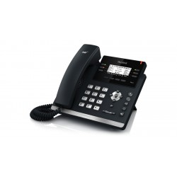 Yealink - SIP-T42S_AC - SIP-T42S - 12-Line IP Phone (PoE) - With Power Supply