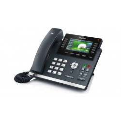 Yealink - SIP-T46S_AC - SIP-T46S IP Phone (PoE) - With Power Supply