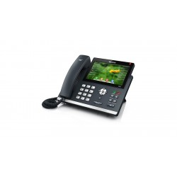 Yealink - SIP-T48S_AC - SIP-T48S 6-line IP Phone with 7 inch Color Touch Screen (PoE) - With Power Supply